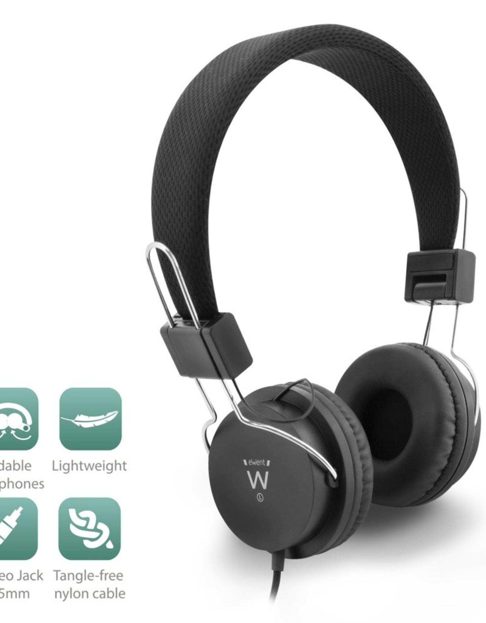 Headphones Professional Black