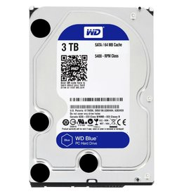 Blue 3TB - 5400RPM - 64MB - SATA