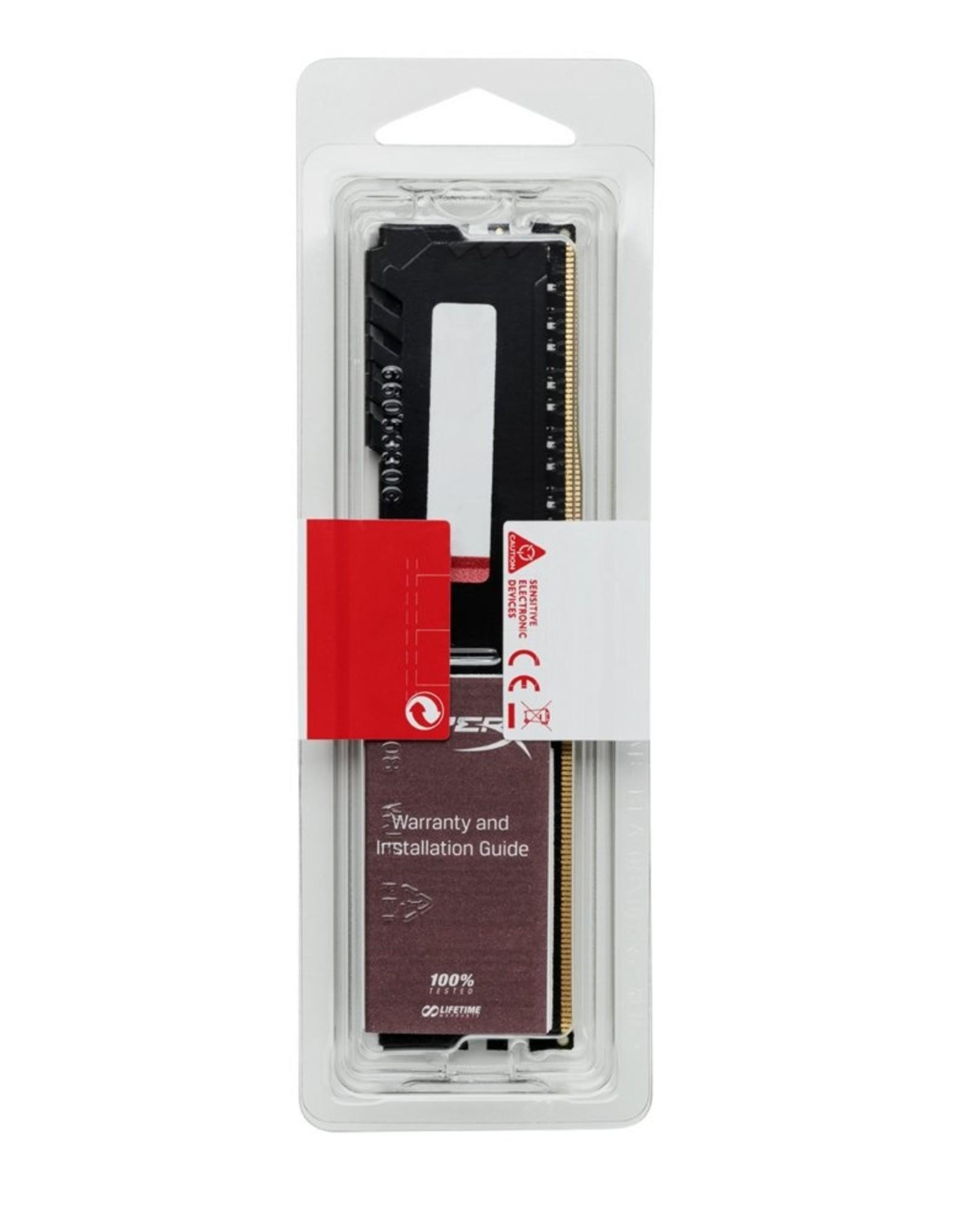 MEM  HyperX Fury 8GB DDR4 2400MHz