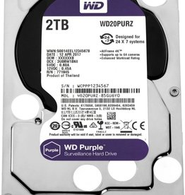 "Purple 3.5"" 2000 GB SATA III HDD"
