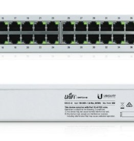 Networks UniFi US-48 Managed network switch Gigabit Ethernet (10/100/1000) 1U Wit netwerk-switch