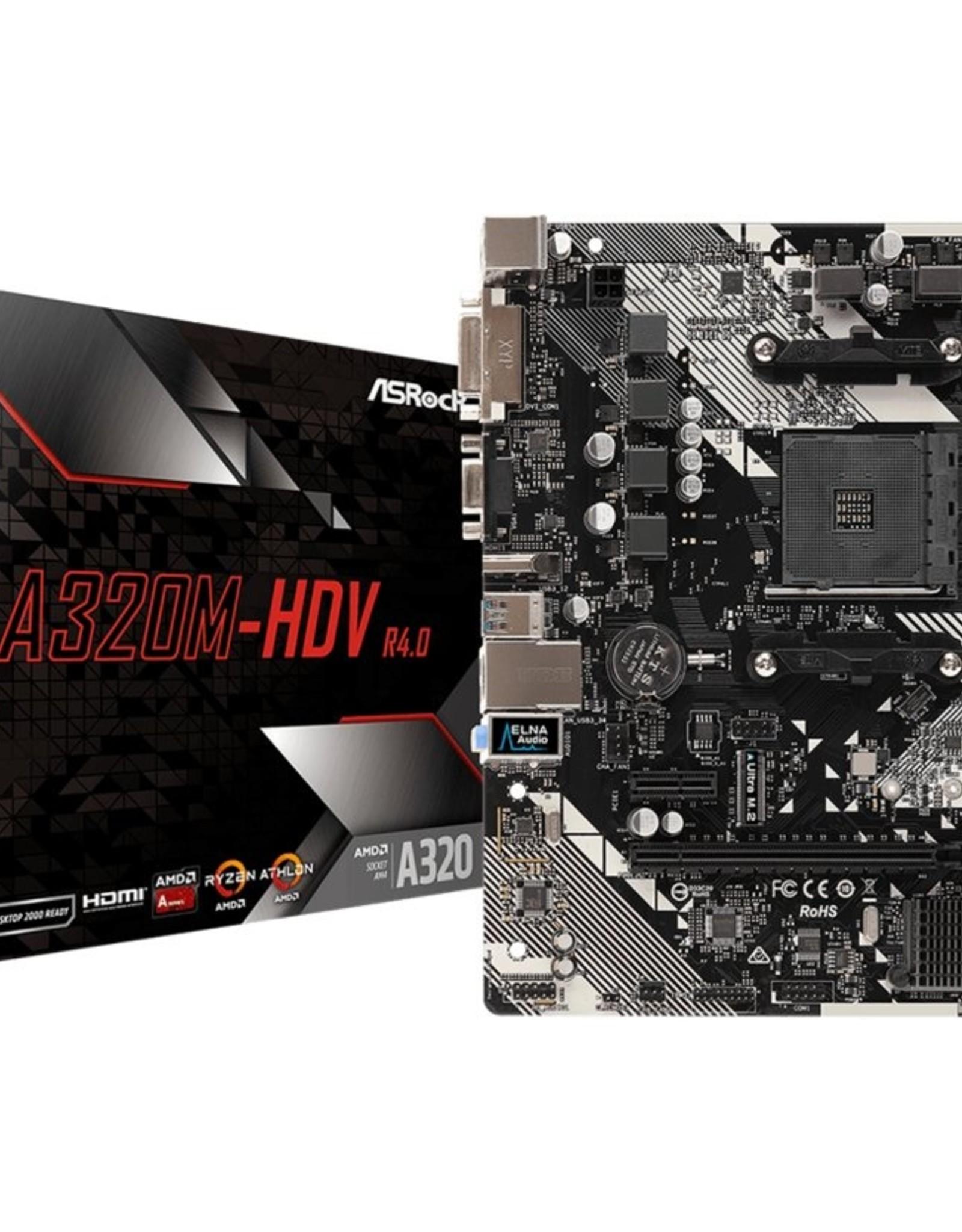 MB  A320M-HDV AM4 / DVI / HDMI / mATX