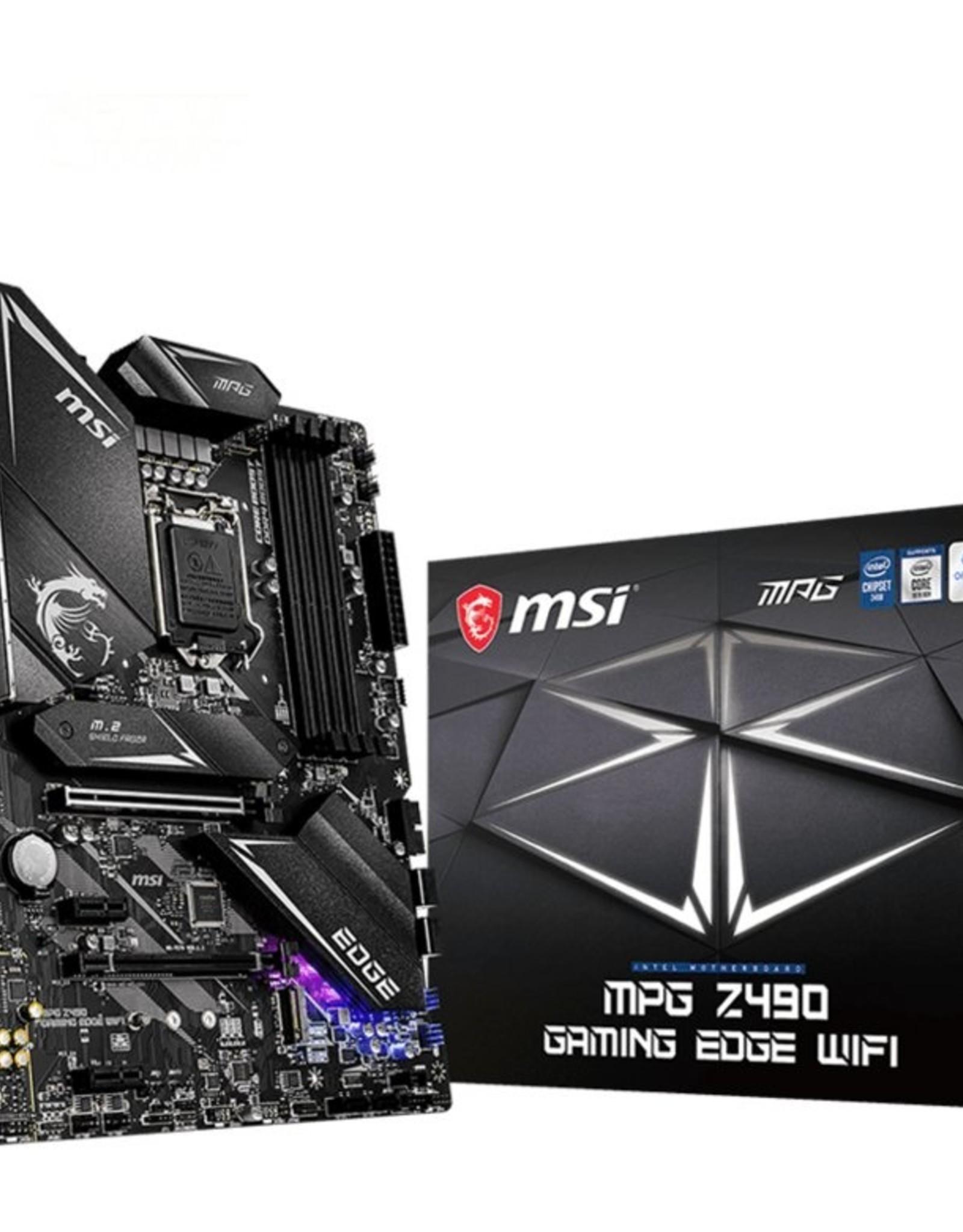 MB  MPG Z490 Gaming Edge WIFI LGA 1200 ATX