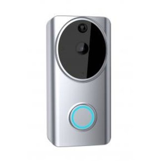 WOOX R4957 Smart Video Deurbel + indoor bel (chime) [Tweerichtingsaudio, Amazon & Google, App]