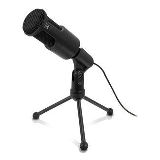 EW3552 microfoon PC microphone Bedraad Zwart