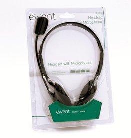EW3563 hoofdtelefoon/headset Hoofdband Zwart