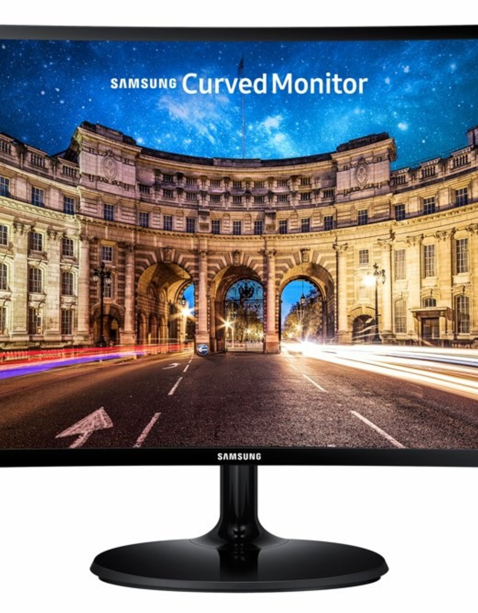 Mon  24inch CURVED / VGA / HDMI / BLACK