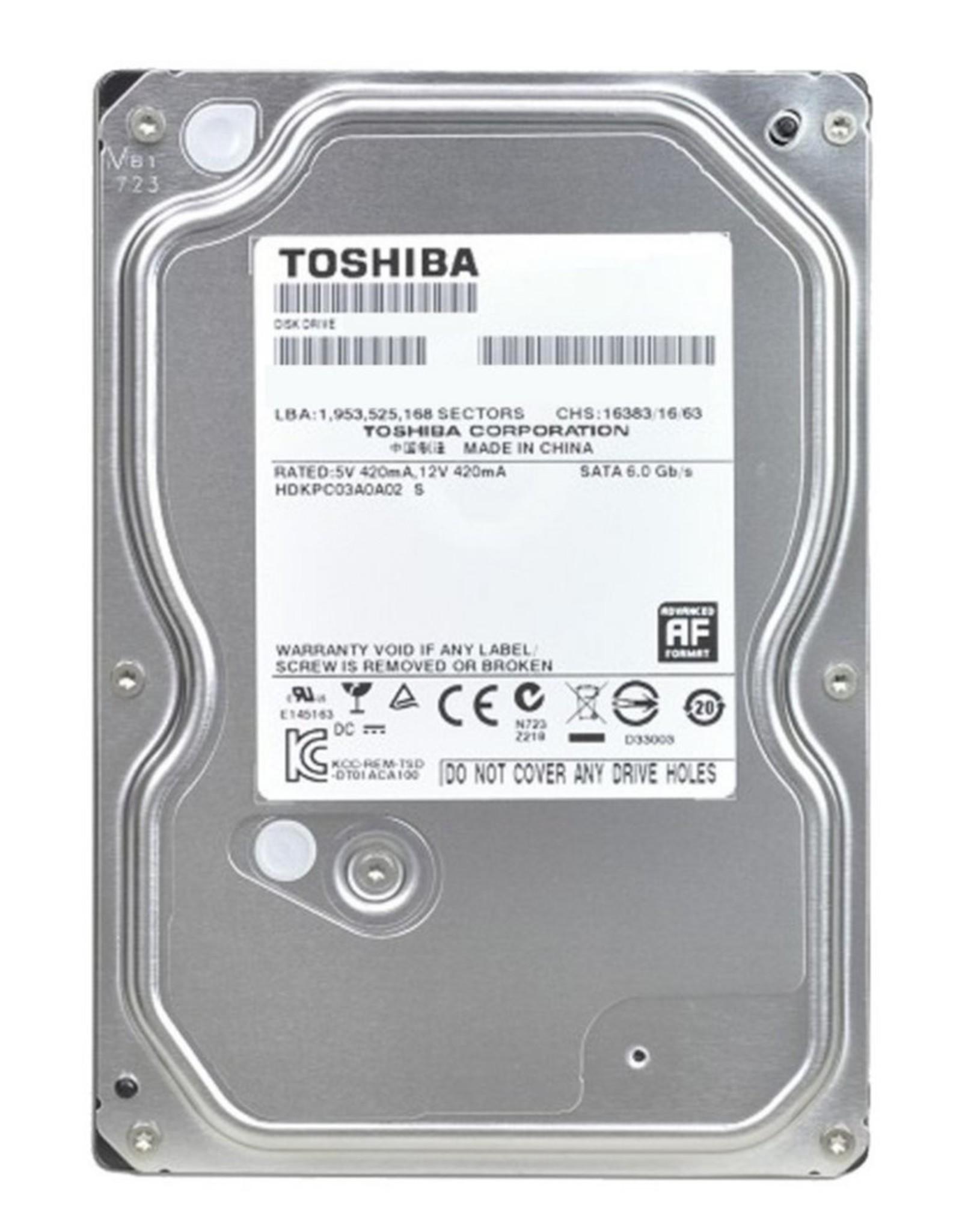 HDD  1TB - 3.5inch - 7200RPM - 32MB - SATA3