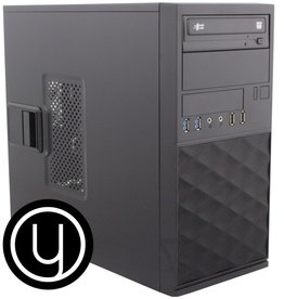 YOURS BLACK /INTEL I7 10th /16GB / 2TB + 480GB SSD/ HDMI /W10