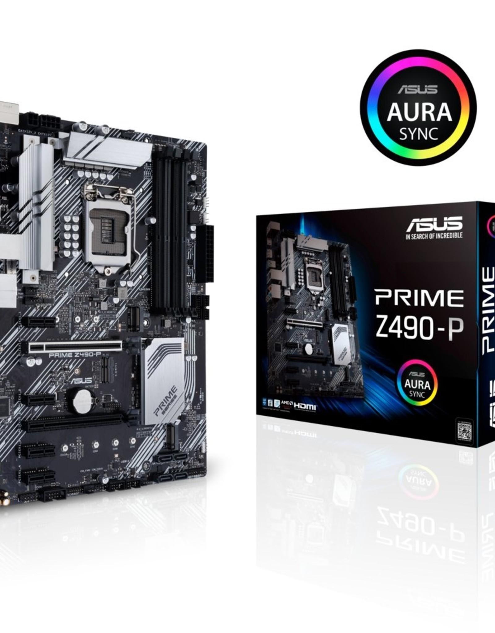 MB ASUS PRIME Z490-P LGA 1200 ATX Intel Z490