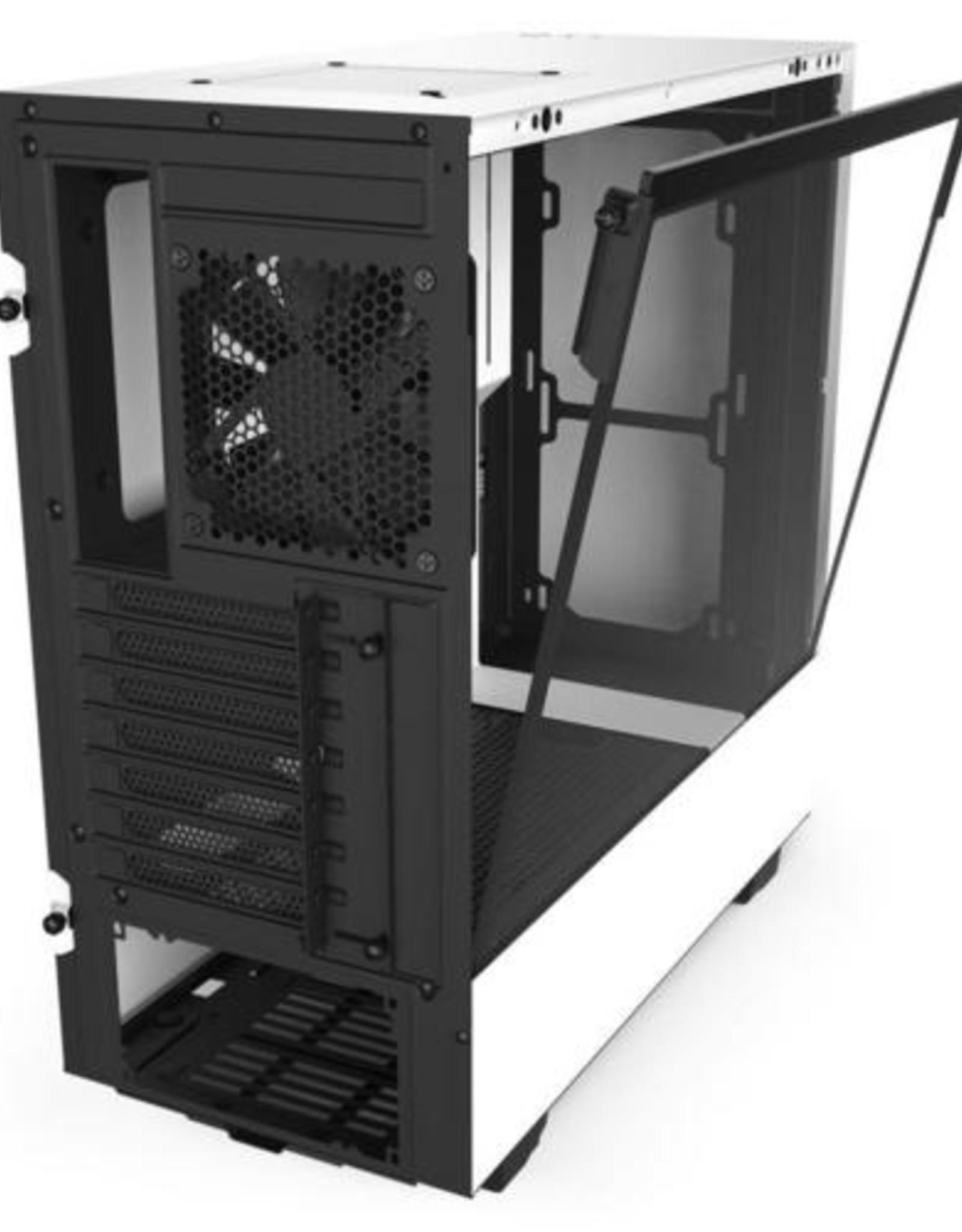 Case  H510 White / Glass window