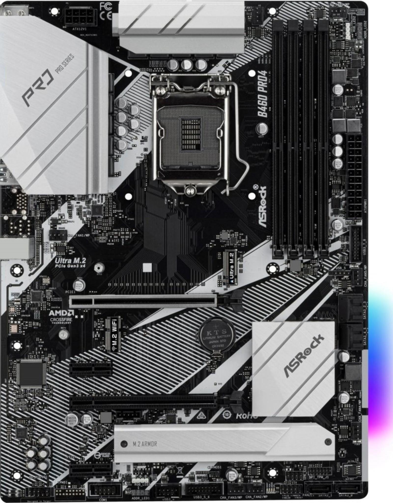 MB  B460 Pro4 LGA 1200 ATX
