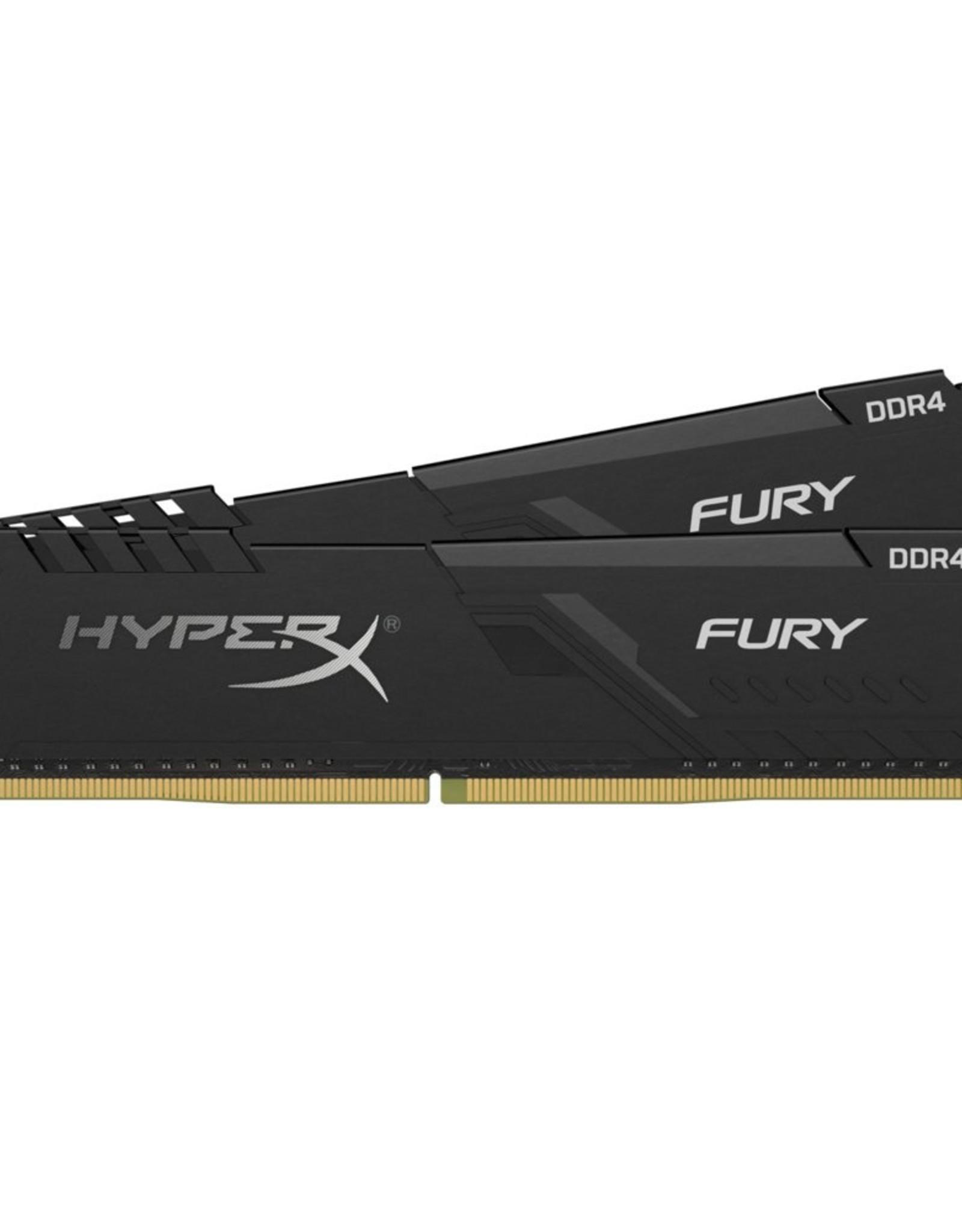 MEM  HyperX FURY 16 GB 2 x 8 GB DDR4 2400 MHz
