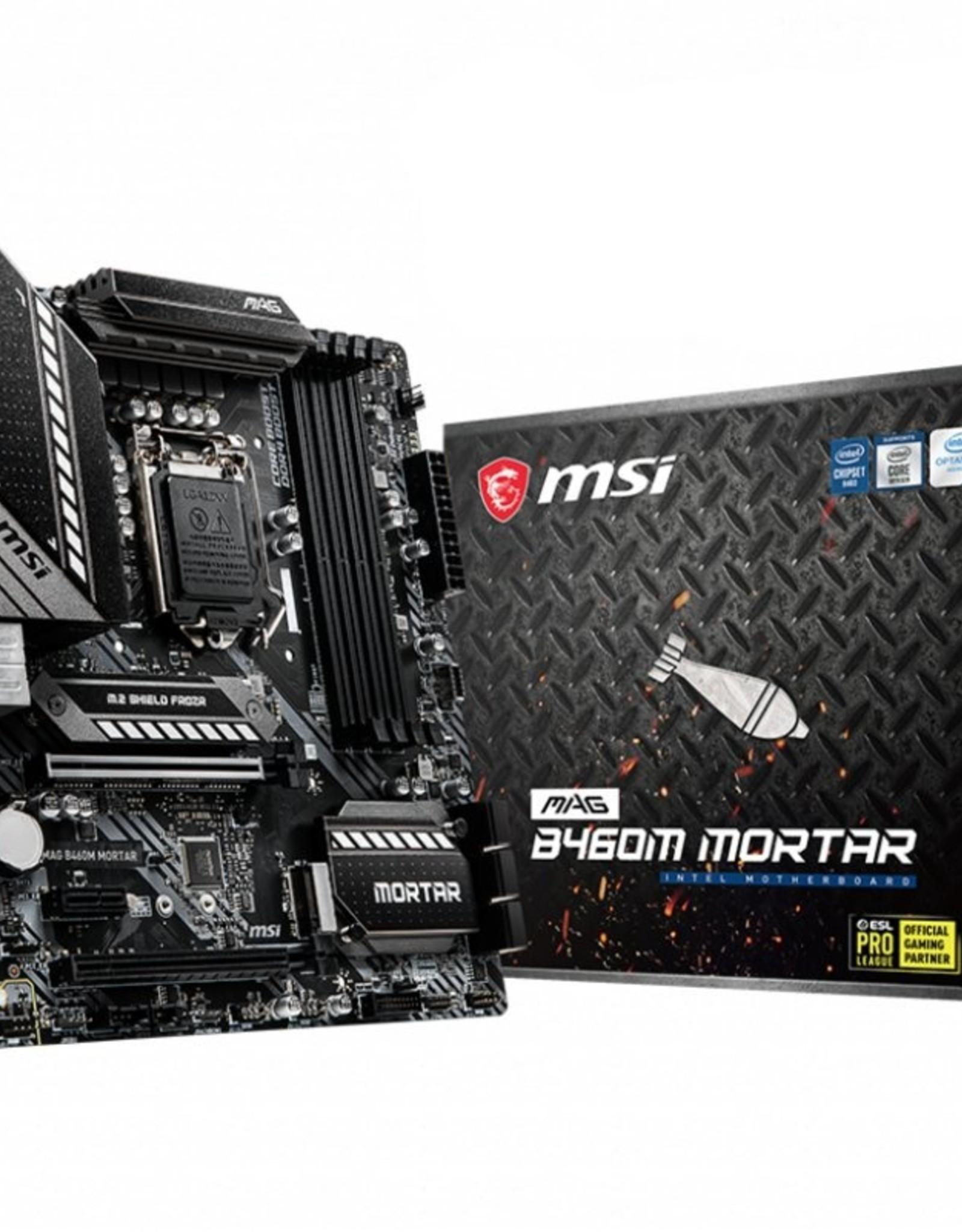 MB  MAG B460M MORTAR LGA 1200 micro ATX Intel B460