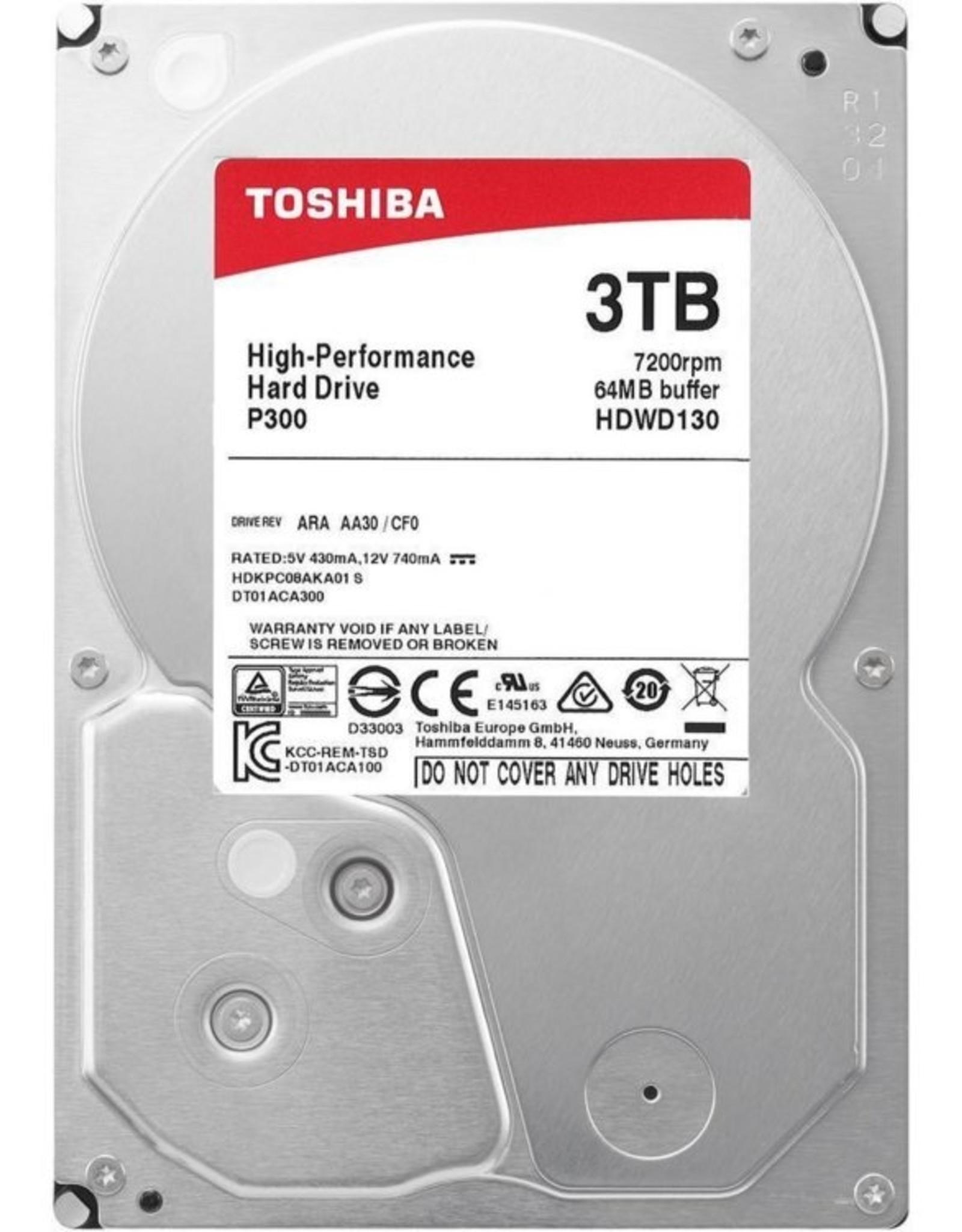 HDD  P300 3TB  - 3.5inch - 7200RPM - 64MB - SATA3