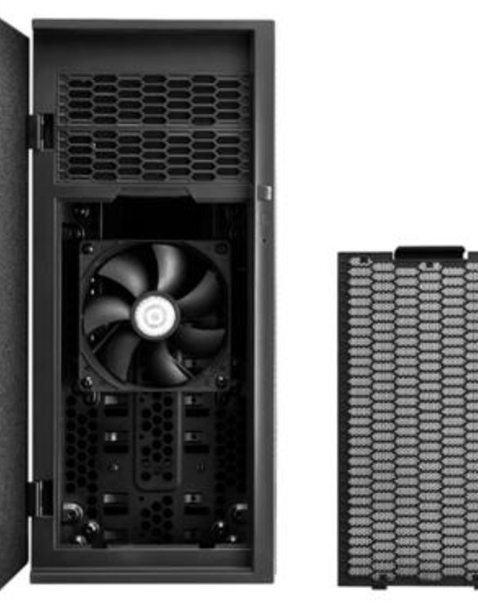 Case  Silent Silencio 452 MidiTower mATX Black (refurbished)