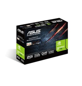 VGA ASUS GT710-SL-2GD5 NVIDIA GeForce GT 710 2 GB GDDR5 (refurbished)
