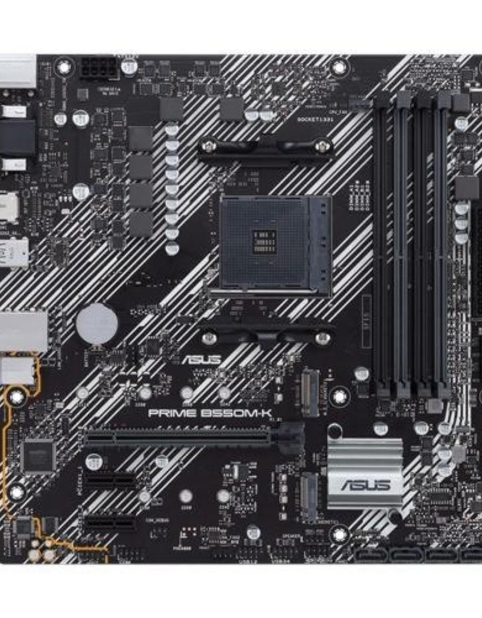 MB  PRIME B550M-K / AM4 / m.2 / PCI- E / 4 x DDR4 / mATX