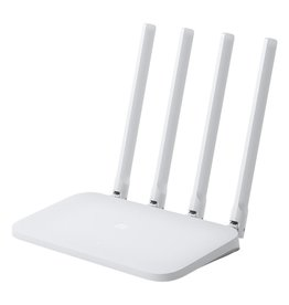 WiFi Router 4? draadloze router Single-band (2.4 GHz) Fast Ethernet Wit