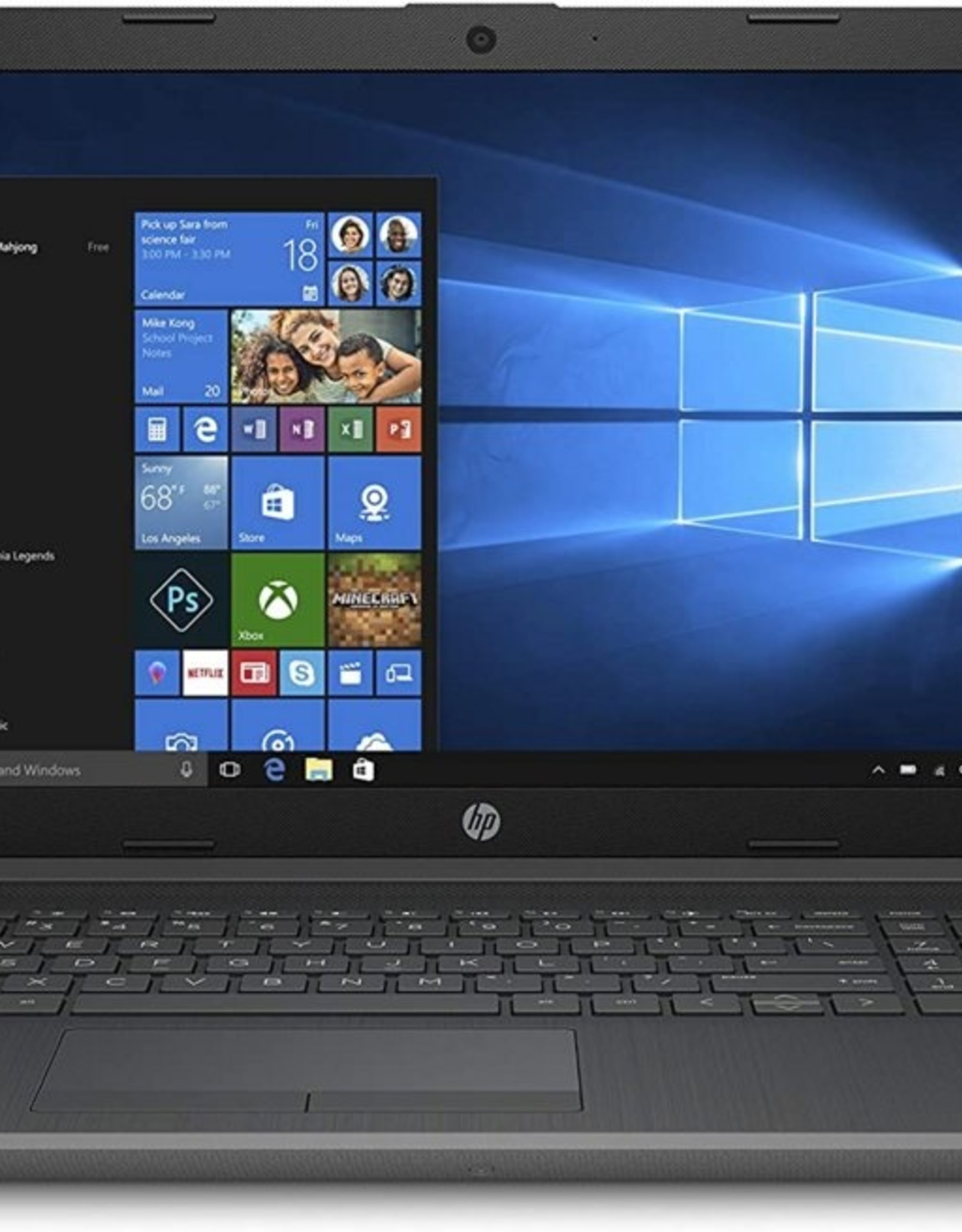 "HP 15.6"" F-HD RYZEN 5 3500U / 8GB / 1TB+256GB M.2 / W10"
