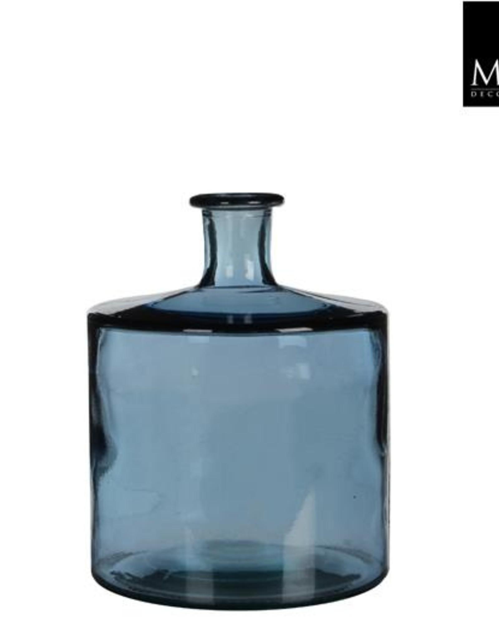Guan fles blauw