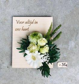 Bloemenplankje ENKEL AFHAAL