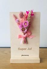 Bloemenkaart SUPERJUF