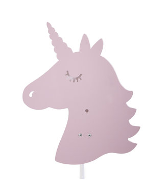 Roommate Decoratie lamp - Unicorn - Rosé