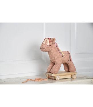 Small Stuff Trekpaardje - Roze