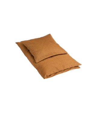 Klip Klap Bed Linen Junior -Indian diamonds - Brown