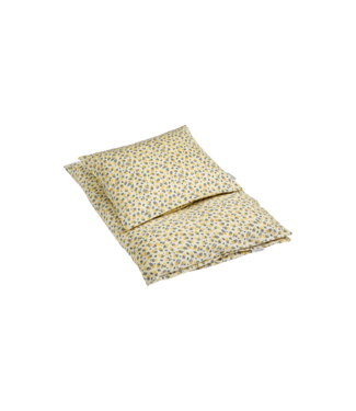 Bij Klipklap Petite Bed Linen - Wild flower Junior Yellow