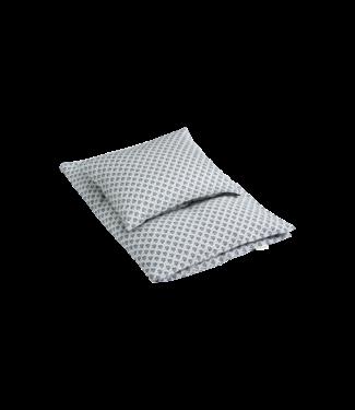 Bij Klipklap Petite Bed Linen Junior - Honey leaf Grey