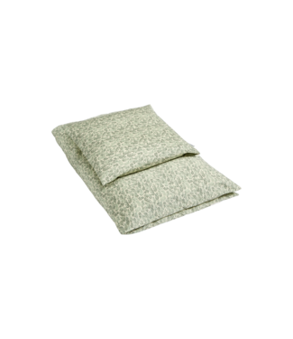 Bij Klipklap Petite Bed Linen Junior - Laurel leaf Green