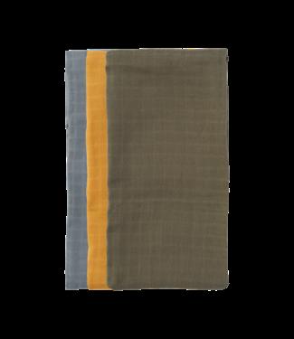Klip Klap Swaddles 3-Pack –  Zacht blauw | Leger groen | Zacht geel