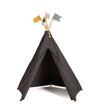 Roommate Hippie tipi play tent, anthracite