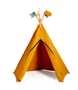 Roommate Hippie tipi play tent, ochre