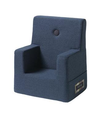 Klip Klap KK Kids Chair - Dark blue w. black