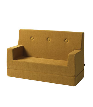 Klip Klap KK Kids Sofa - Mustard w. mustard