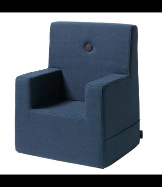 KK Kids Chair XL - Dark blue w. black