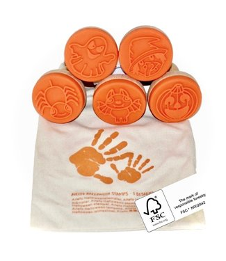 Forest stories,  5 stamps in cotton bag