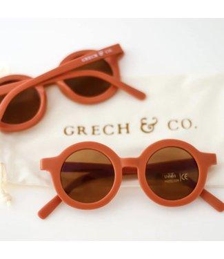 Grech & Co Duurzame zonnebril - Rust/Bruin