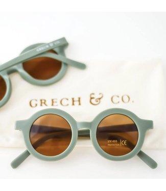 Grech & Co Duurzame zonnebril - Fern/Groen
