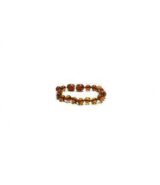 Mahina La Armband - Balance Amber baby 14cm