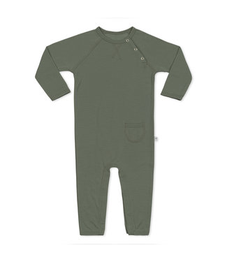 Little Savage Baby jumpsuit - Groen/ Agave