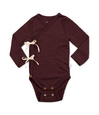 Little Savage Kimono body - Chocolade bruin