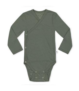 Little Savage Kimono body - Groen /Argave