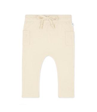 Little Savage Combi Pants - Bone wit