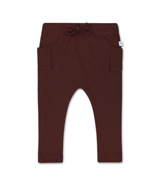 Little Savage Combi Pants - Chocolade bruin