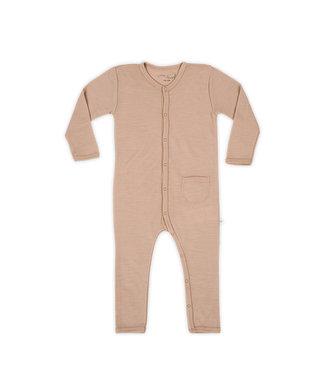 Little Savage Baby jumpsuit - Nougat