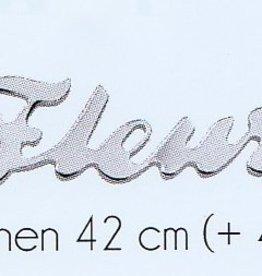 Naam armband zilver (volwassenen)